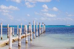 Maroma coastline along the Riviera Maya